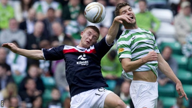 Celtic FC - Dundee FC, how we lived it.