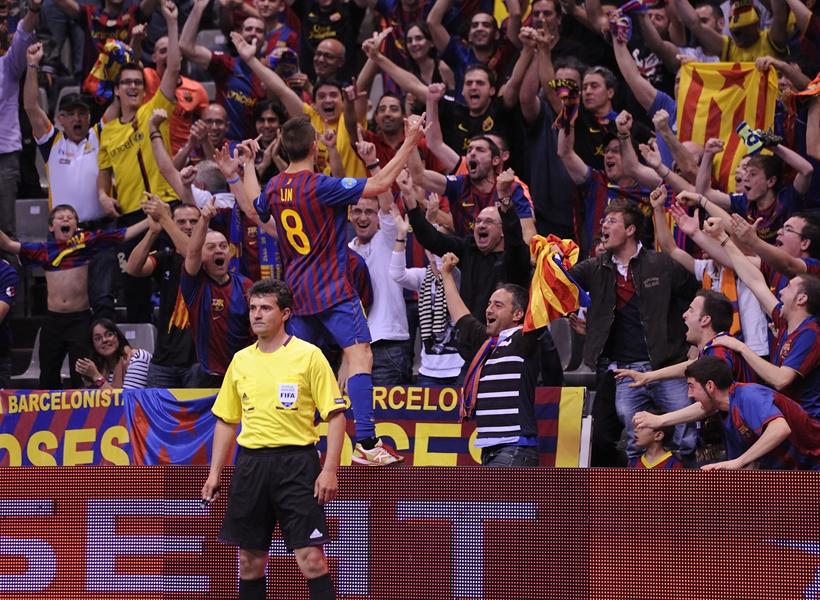 """FC Barcelona Alusport: """"Gracias, afición"""""""