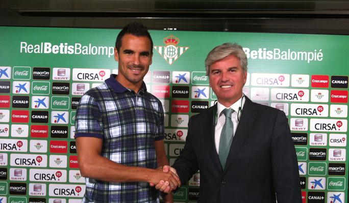 Ángel, nuevo fichaje del Real Betis
