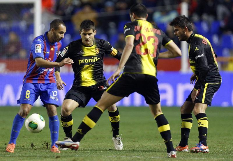 Real Zaragoza-Levante, así os lo contamos