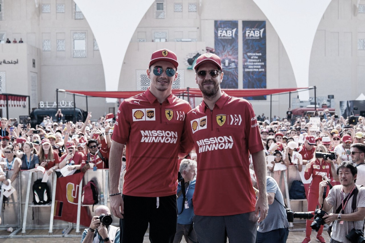 Ferrari não descarta interferir em disputa de seus pilotos