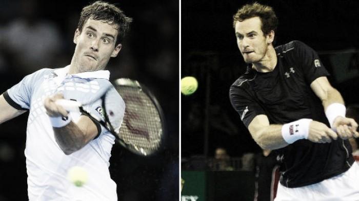 Pella vs Murray en vivo y en directo online por Copa Davis 2016 (0-0)