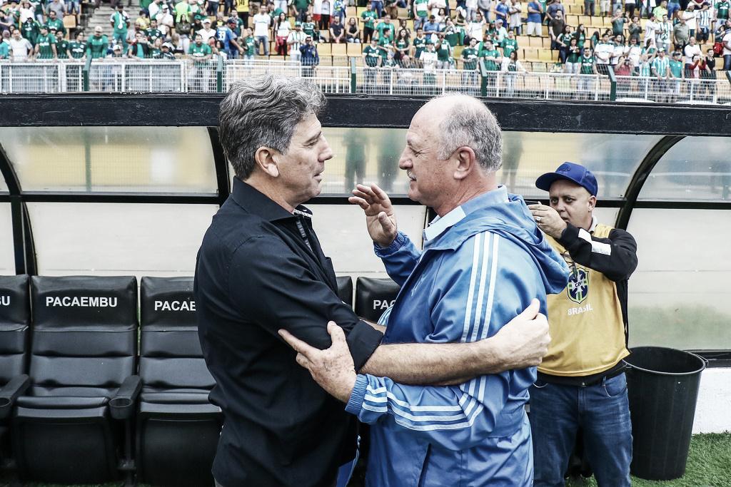 """Após derrota do Grêmio para o Palmeiras, Renato admite: """"Complicou um pouco mais"""""""