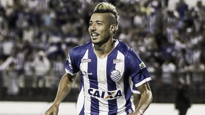 Hugo comemora gol sobre o Fortaleza e acredita no acesso do CSA