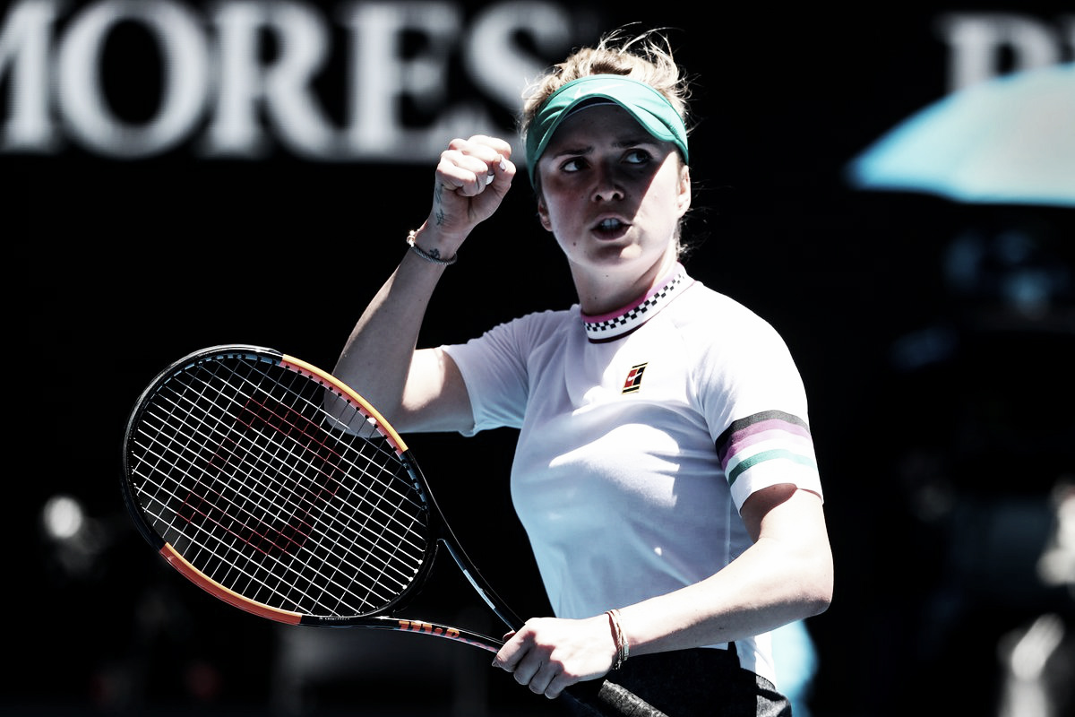 Svitolina sobrevive a batalha de três sets com Zhang e avança na Austrália
