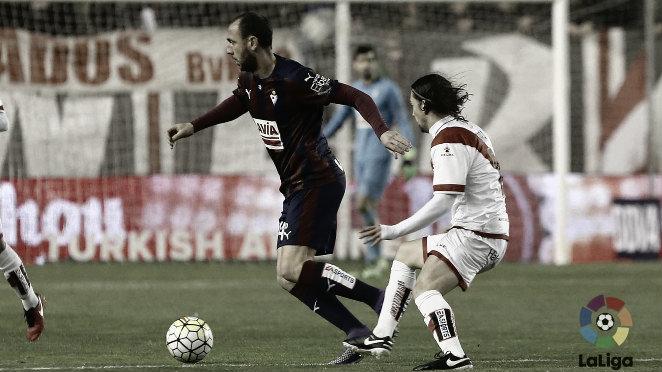 El Eibar quiere asegurar la permanencia frente al Rayo