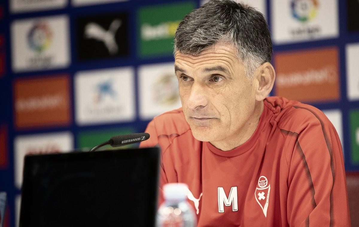"""Mendilibar: """"Al final hemos hecho un buen partido"""""""