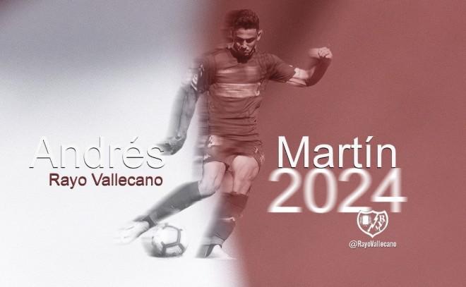 Andrés Martín, el delantero es el segundo refuerzo franjirrojo