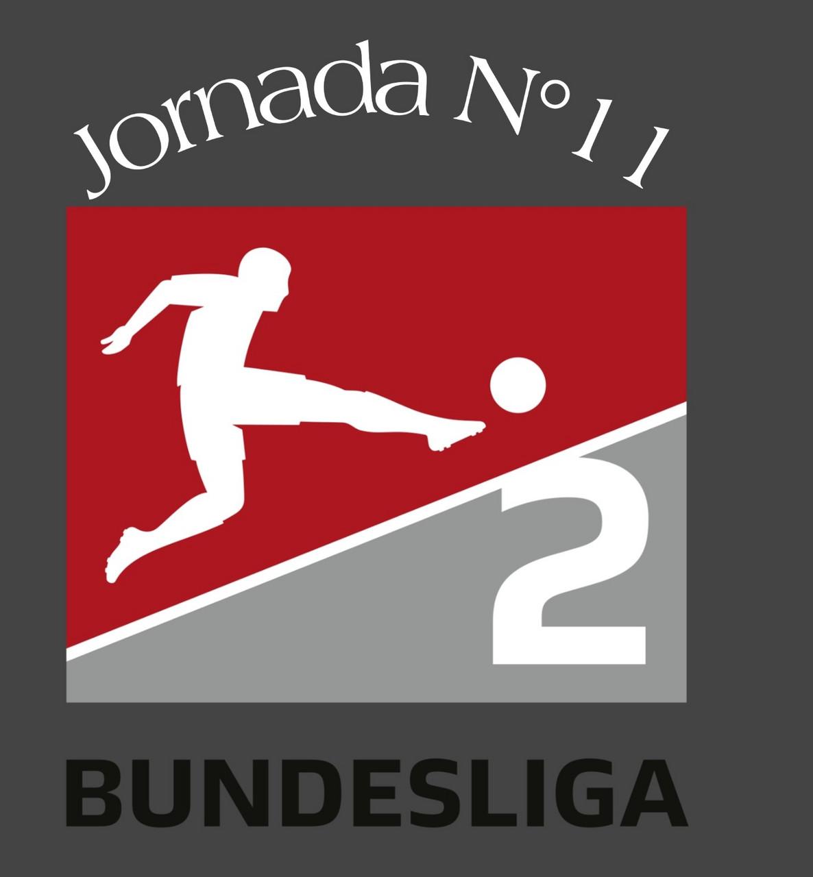 Previa de la 11ª jornada de la 2.Bundesliga