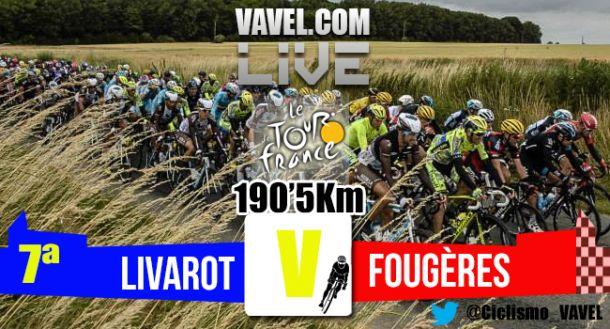 Posiciones etapa 7 del Tour de Francia 2015: Livarot - Fougères