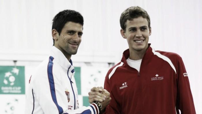 Djokovic tendrá una dura parada ante Pospisil