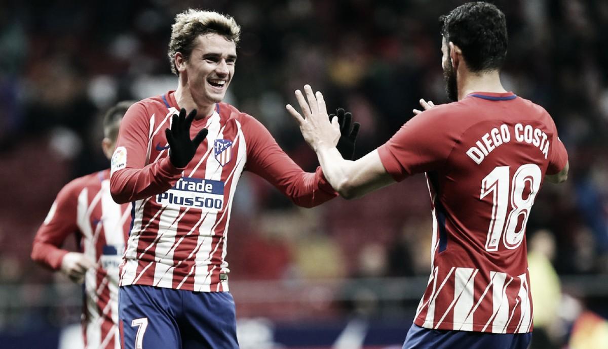 Especulado em outras equipes, Griezmann garante estar feliz no Atlético de Madrid