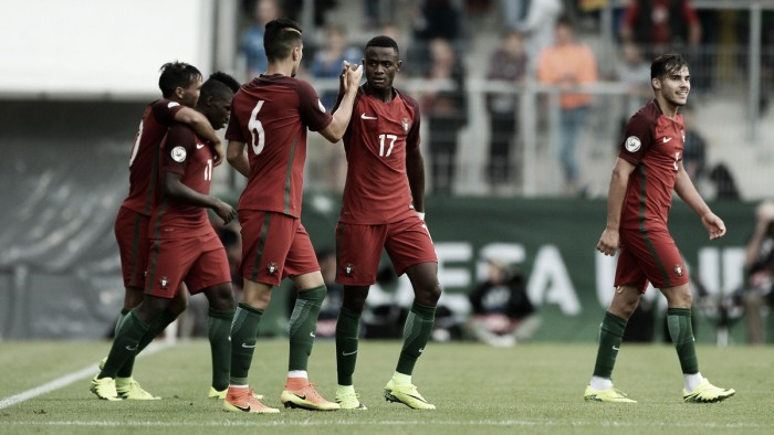Germany under-19 3-4 Portugal under-19: Hosts knocked out in seven-goal thriller