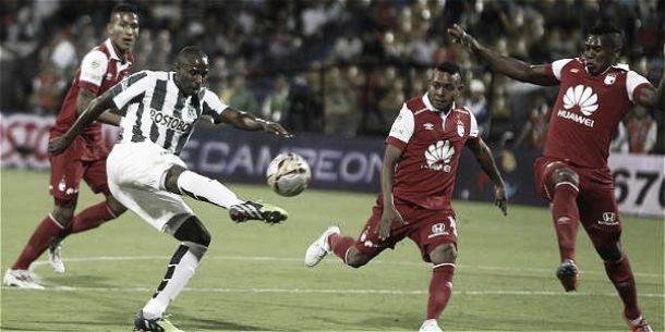Santa Fe - Atlético Nacional: el'expreso rojo' busca mantenerse entre los ocho