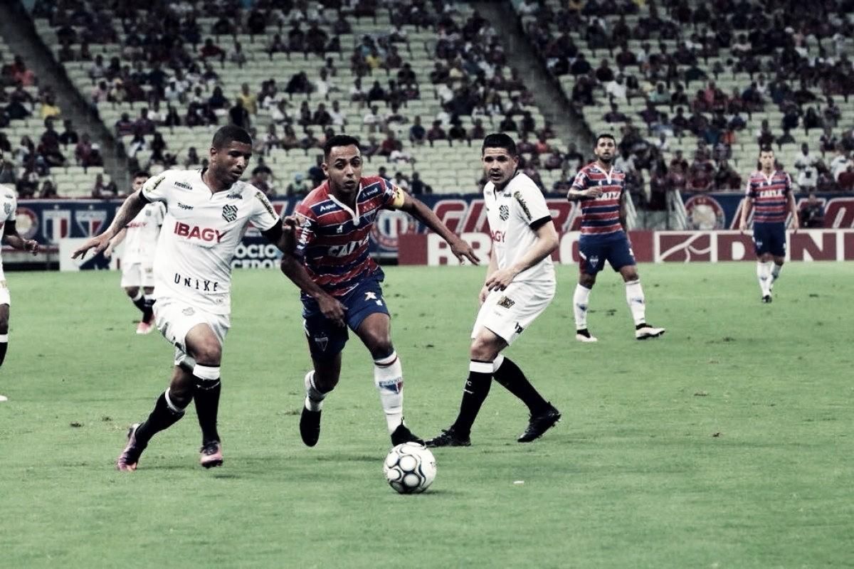 Em jogo movimentado, Fortaleza e Figueirense empatam na Arena Castelão