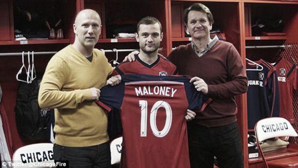 Shaun Maloney assina pelo Chicago Fire como jogador designado