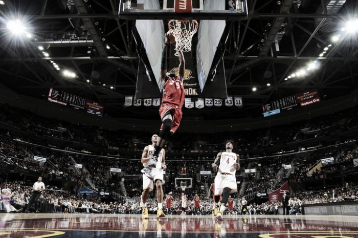 Los Raptors superan a los Cavaliers en el día del regreso de Tristan Thompson