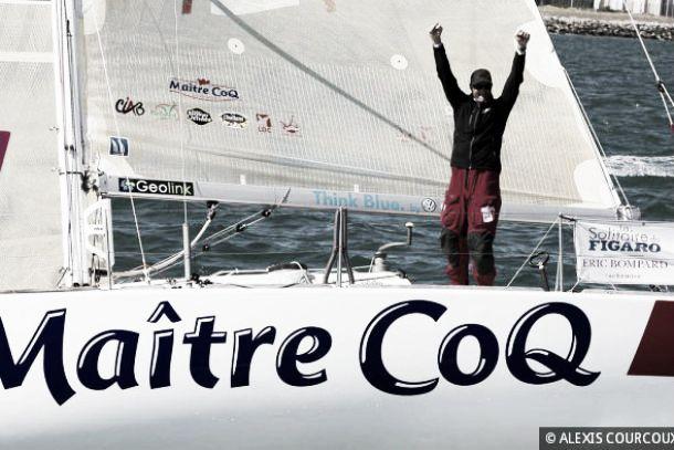 Jérémie Beyou remporte la Solitaire du Figaro