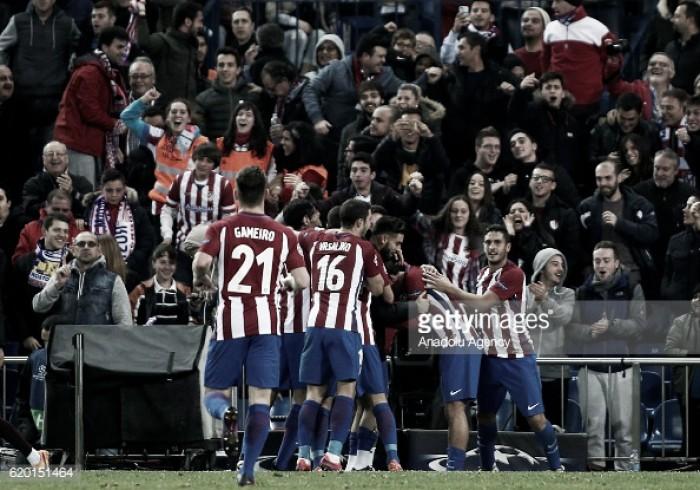Espanha : Atlético preparado para o derbi