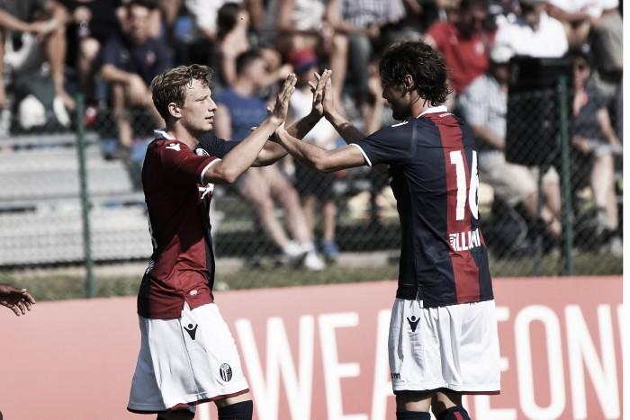 Bologna, 5-0 al Trento con uno sguardo al mercato: Palacio e Rincon stuzzicano