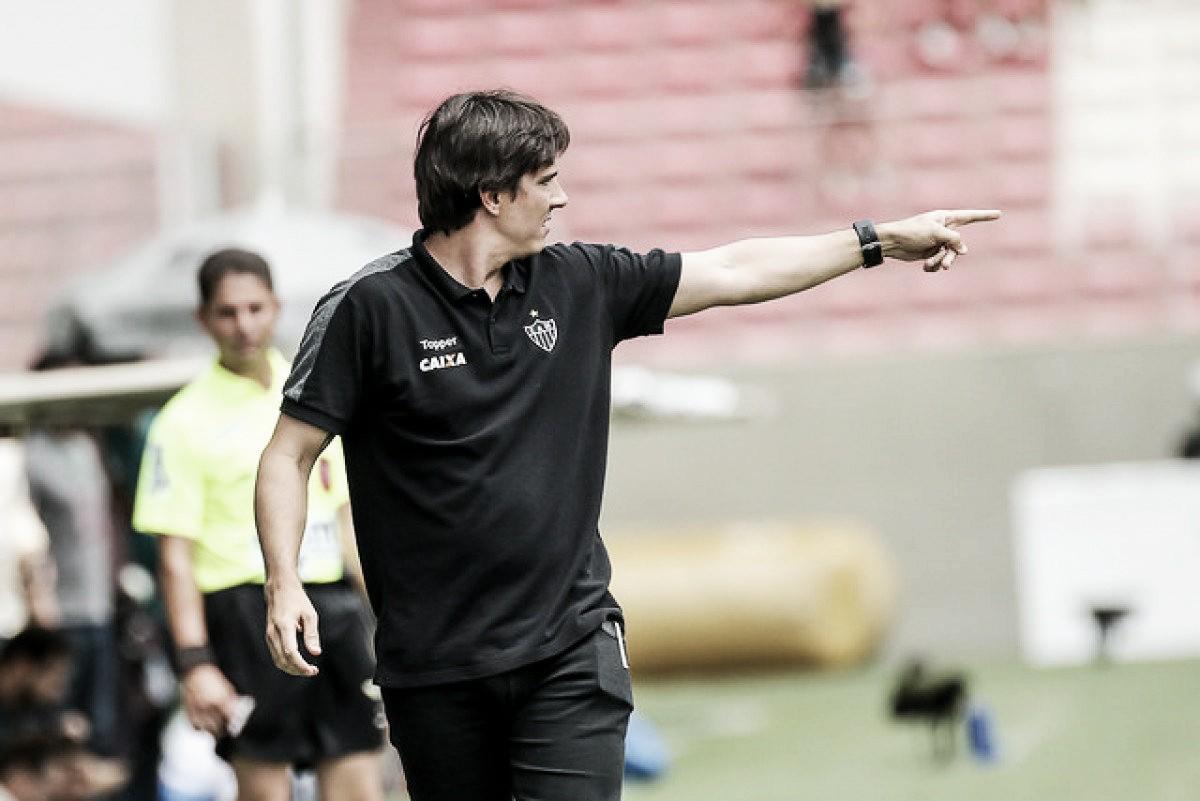 Thiago Larghi avalia revés no dérbi e pede tempo para desenvolver trabalho à frente do Atlético-MG