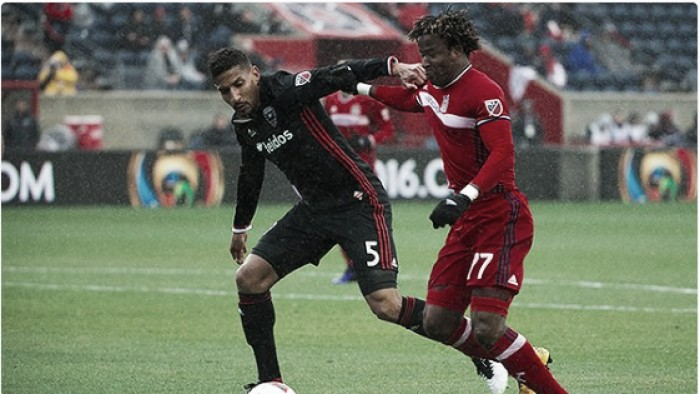 Chicago Fire and DC United battle to a 1-1 draw