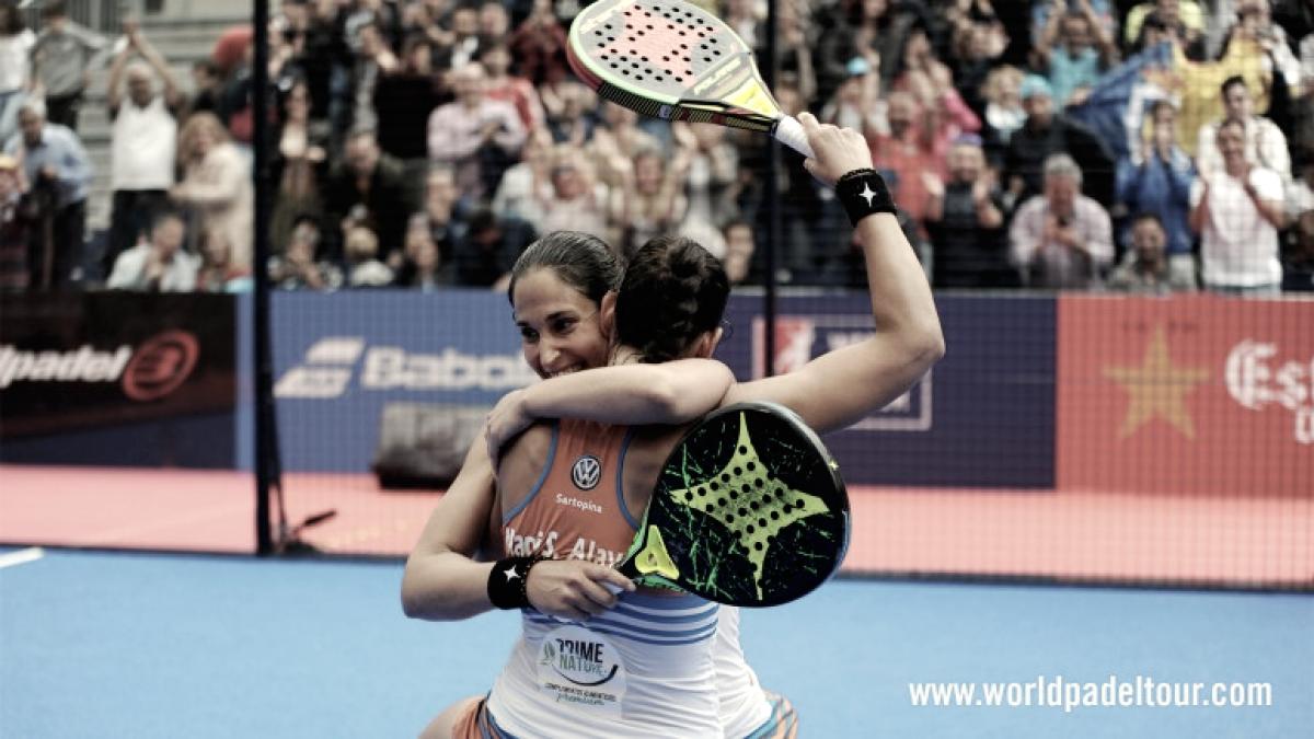 Las hermanas Sánchez Alayeto se llevan su primer torneo del año