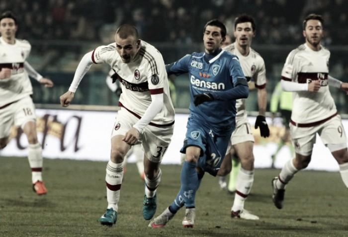 Risultato Empoli 1-4 Milan in Serie A 2016/17: Poker rossonero al Castellani
