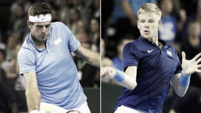 Del Potro vs Edmund en vivo AHORA en la Copa Davis hoy (0-0)