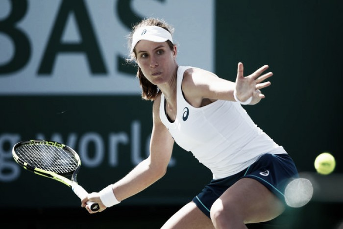 Indian Wells WTA Round-Up: Johanna Konta books place in round four