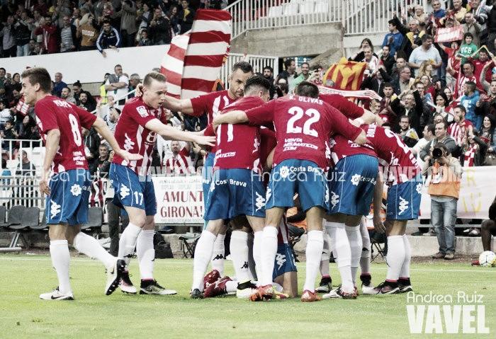 El Girona se afianza en Montilivi