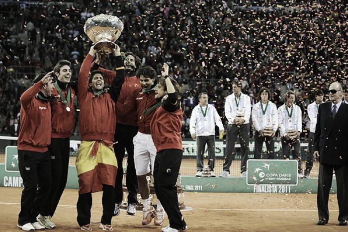 Copa Davis: Última final de Argentina