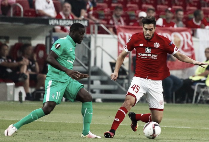 1. FSV Mainz 05 1-1 AS Saint-Etienne: Schmidt's side fall to late Beric equaliser