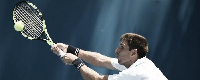 Delbonis eliminado del ATP de Chengdu