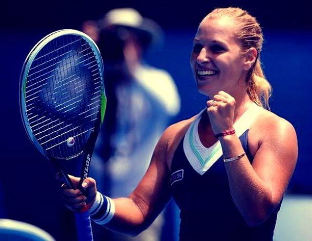 Open d'Australie : Cibulkova et Radwanska rejoignent le dernier carré
