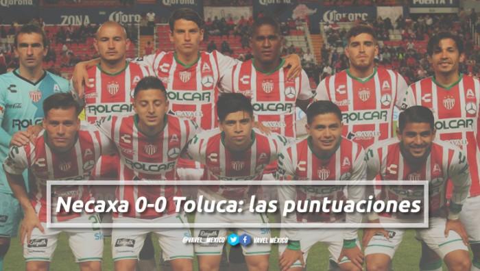 Necaxa 0-0 Toluca: puntuaciones de Necaxa en la jornada 5 de la Liga MX Clausura 2018