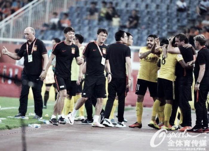 Fim do primeiro turno da Liga Chinesa tem Guangzhou imbatível e disputa pela vice-liderança