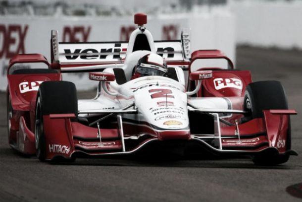 Juan Pablo Montoya fue tercero en el GP de Indianapolis