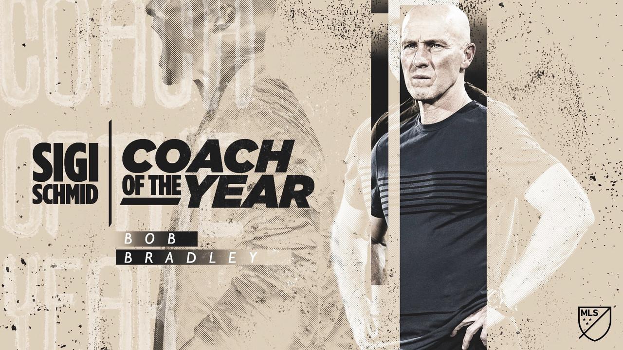Bob Bradley, Sigi Schmid MLS Entrenador del Año