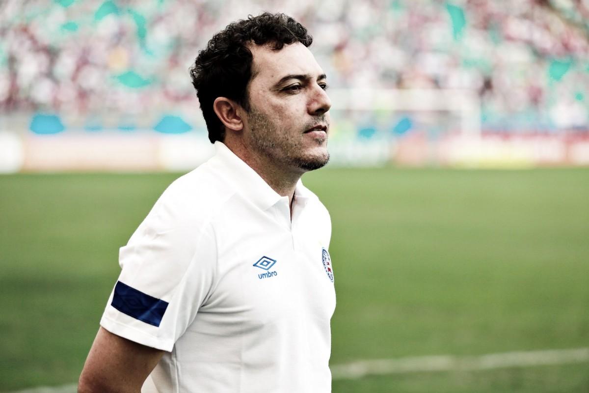 """Alexandre Faganello elogia atuação e jogadores do Bahia mesmo com empate: """"Estão de parabéns"""""""