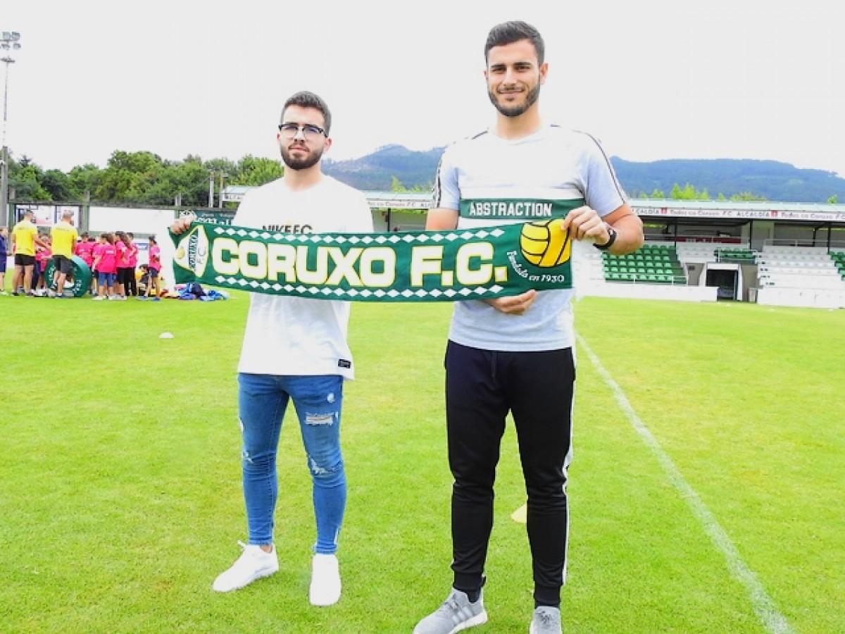 Lucas Fernández y Óscar Martínez, nuevos jugadores del Coruxo FC