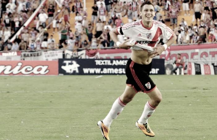 """Ocampos: """"Me gustaría volver a River y jugar en el Monumental"""""""