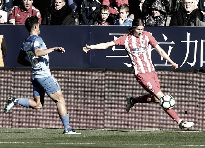"""Filipe Luis: """"Tenemos muy claro de qué forma jugar"""""""