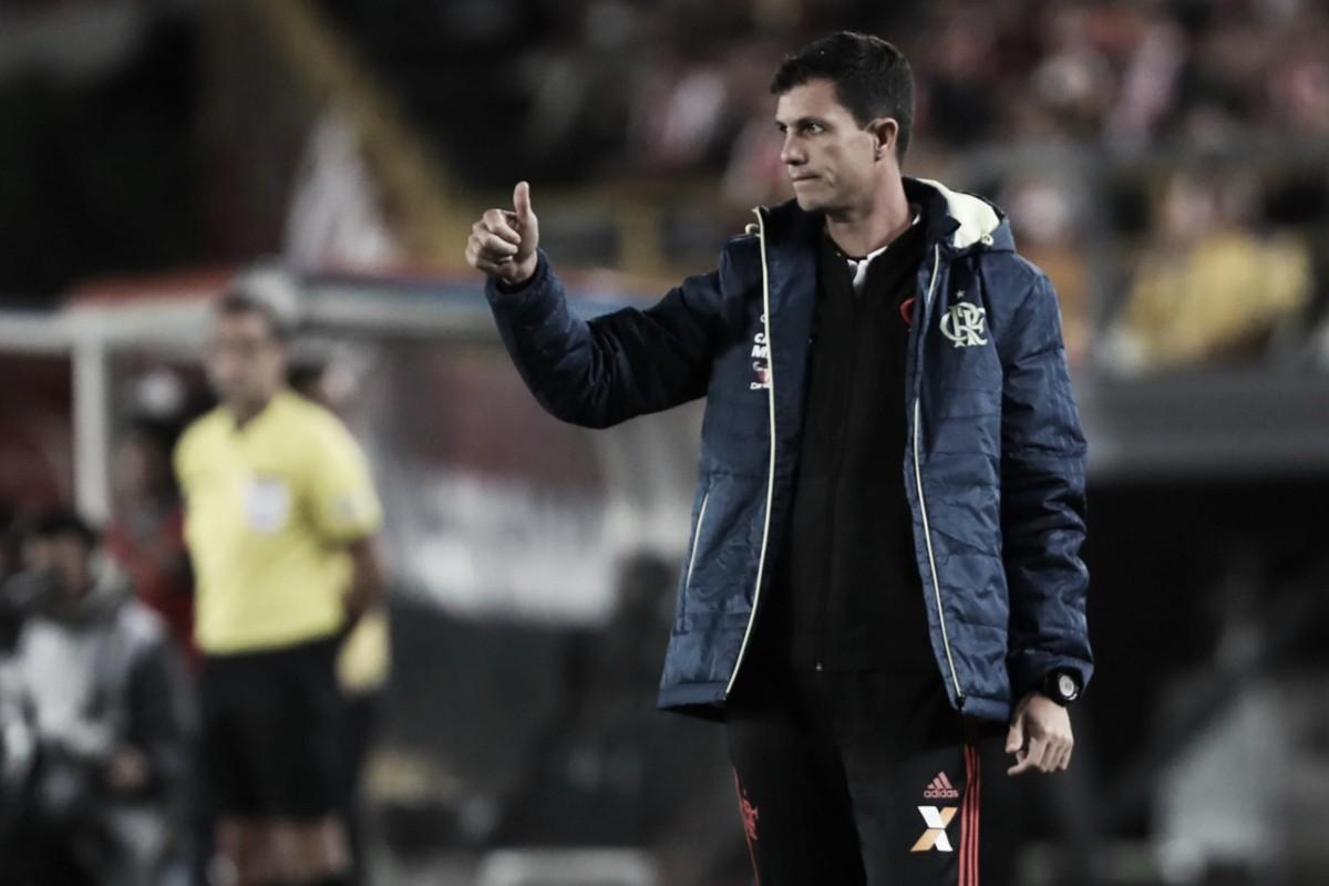 Mauricio Barbieri exalta atuação do Flamengo após empate: ''Não faltou atitude nem disposição''