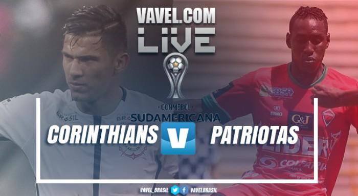 Resultado Corinthians x Patriotas na Copa Sul-Americana 2017 (2-0)
