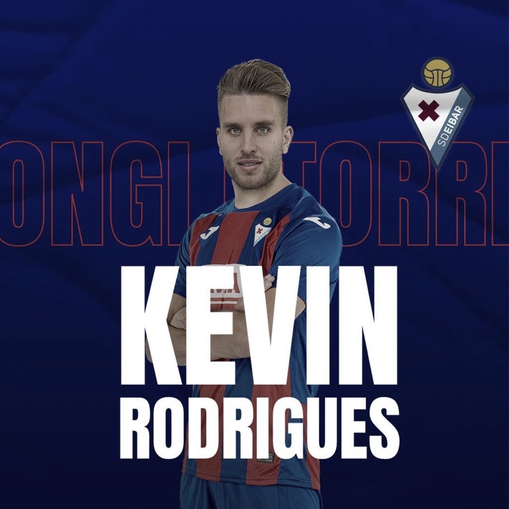 Kevin Rodrigues, refuerzo de lujo para el costado zurdo de la SD Eibar