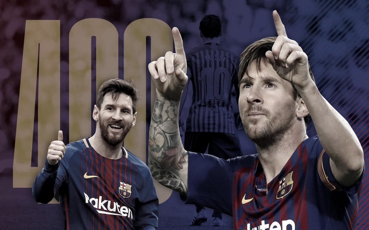 Messi se aproxima de ser o segundo maior artilheiro em ligas nacionais da história