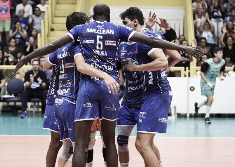 EMS Taubaté vira sobre Sada Cruzeiro e amplia vantagem na semifinal da Superliga