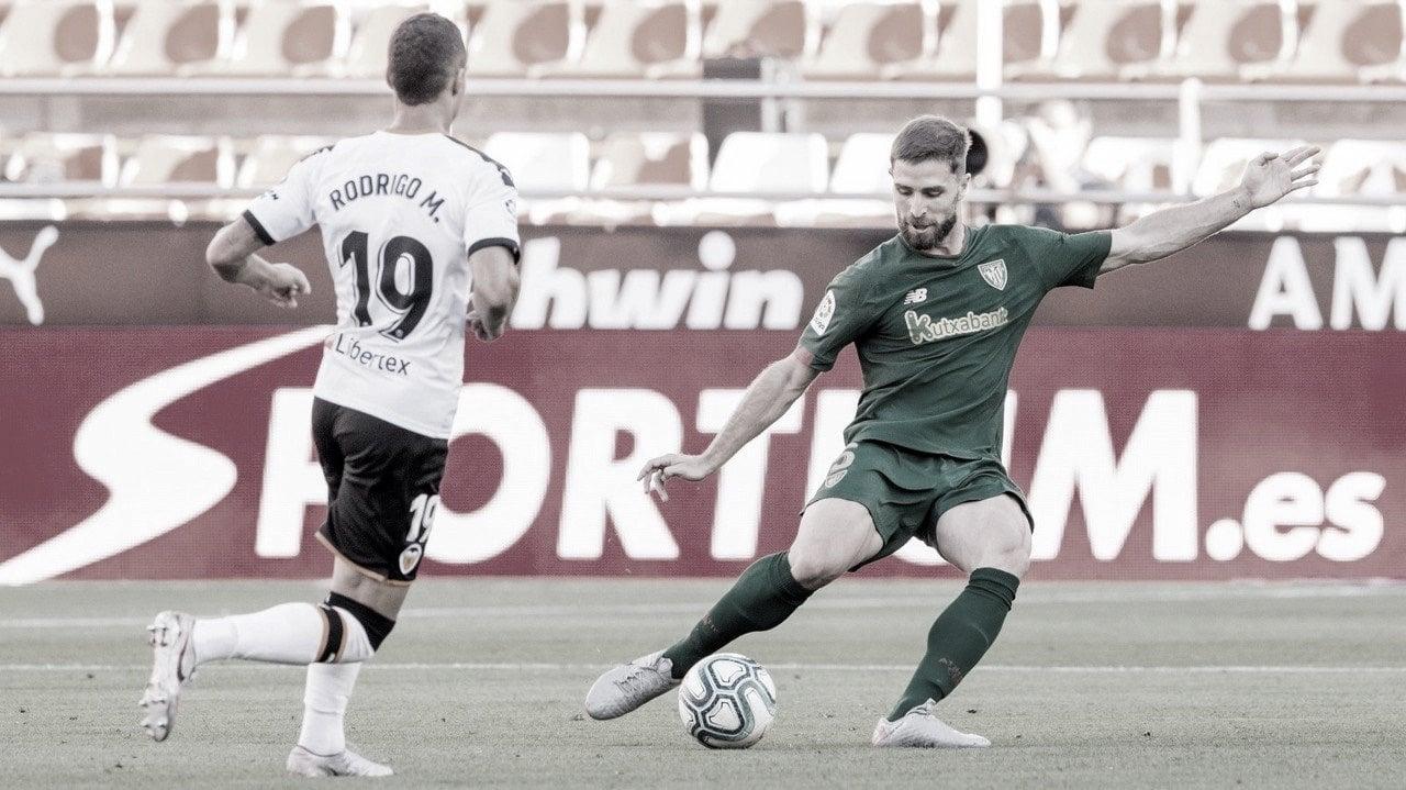 El Athletic se lleva un gran botín de Mestalla y pone rumbo hacia Europa