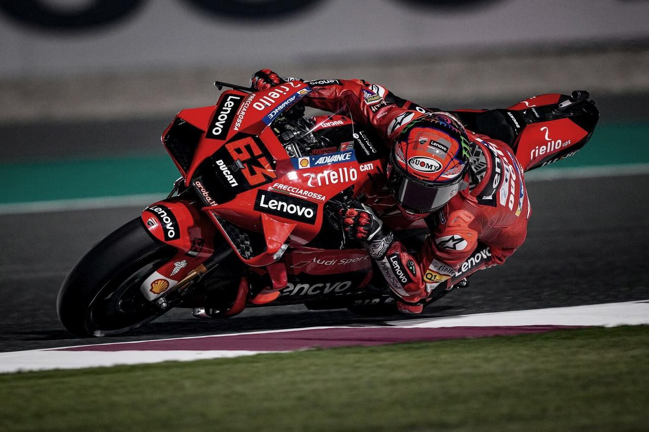 Ducati lidera con Miller en el GP de Doha